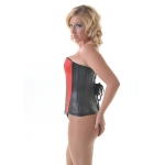 Lottie Leather Overbust  Corset **